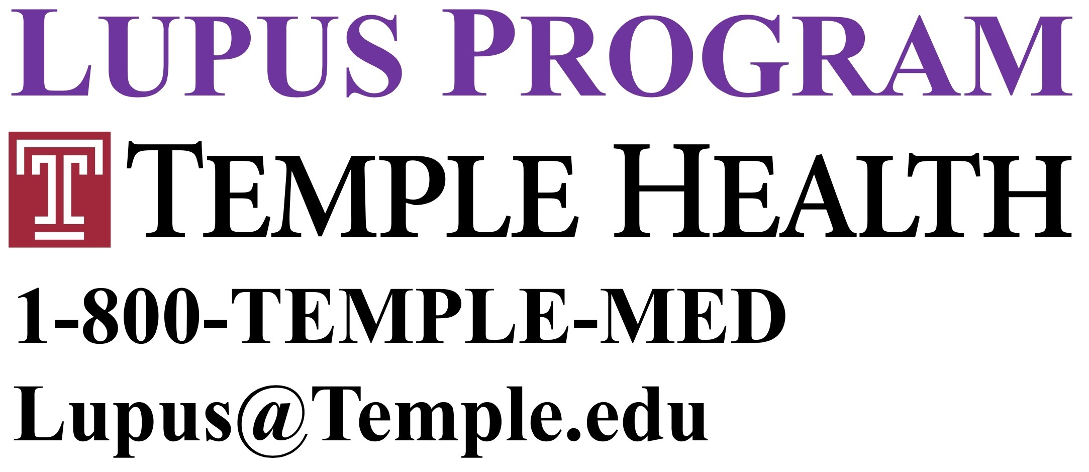 Temple Lupus Program
